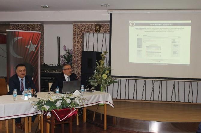 DTSO'da Dış Ticaret Bilgilendirme Semineri Gerçekleştirildi