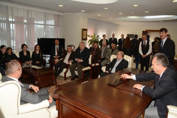 Başkan Keleş, Vali Fidan'ı Ziyaret Etti