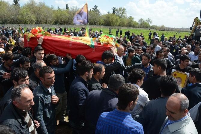 YPG'li Çetin'in Cenazesi Nusaybin'de Defnedildi
