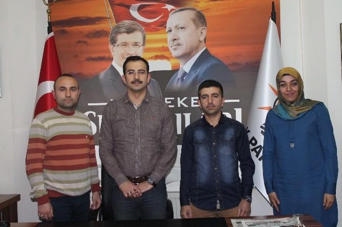 Genç Memur-sen'den AK Parti'ye Ziyaret