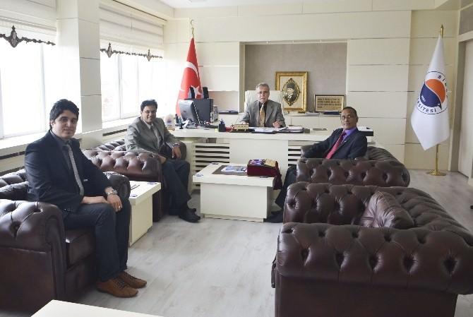 Hindistan'dan Sinop Üniversitesi'ne Eğitim Desteği