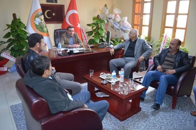 Ziraat Odası Başkanı'ndan Uysal'a Ziyaret