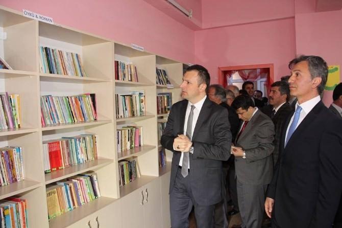 Pastalı Kütüphane Açılışı