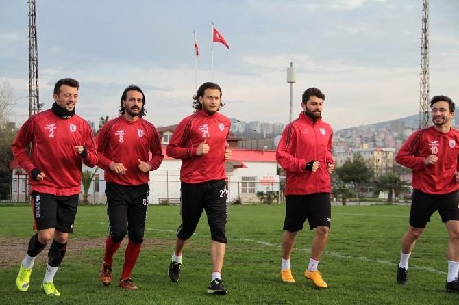 Samsunspor, Şanlıurfa Maçı Hazırlıklarına Başladı