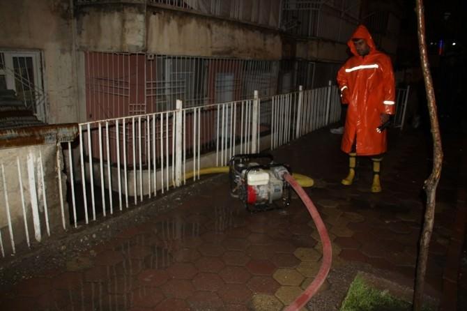 Siirt'te 37 Ev Ve İş Yerini Su Bastı