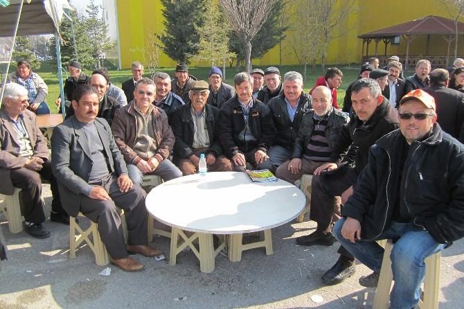 Tepebaşı Çiftçileri Konya'da