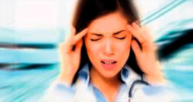 Migren kadında bir saat fazla sürüyor