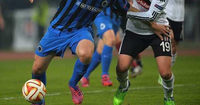 Beşiktaş, yine Club Brugge'a karşı