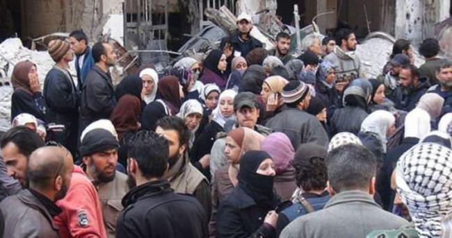 Terör örgütü DAEŞ Filistinlilere saldırdı