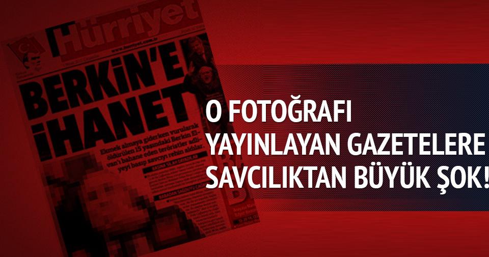 Şehit savcının o görüntülerini yayınlayan gazetelere terör soruşturması