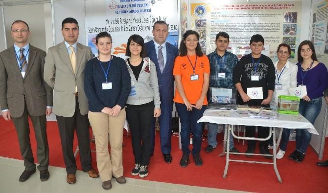 TÜBİTAK Ortaöğretim Araştırma Projeleri Bölge Sergisi Mersin'de Açıldı