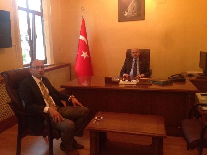 Özbayram'dan Peynircioğlu'na Başsağlığı Ziyareti