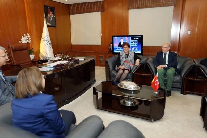 Almanya Bavyera Eyaleti Meclis Başkanı Stamm'dan Şahin'e Ziyaret