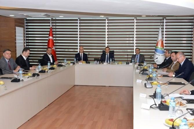 Antalya OSB Müteşebbis Heyeti Toplantısı Yapıldı