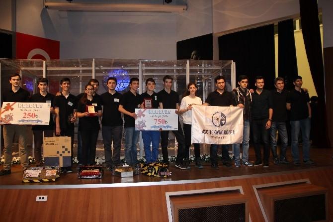 ASO Teknik Koleji Öğrencilerinden 'Robot' Başarısı