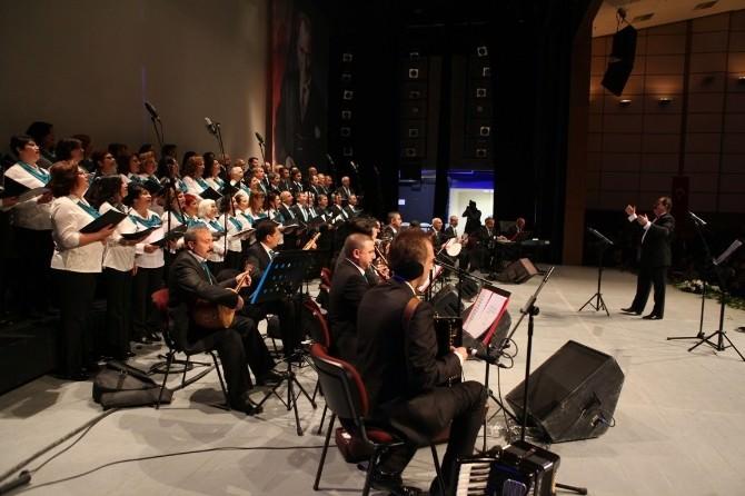 Türk Halk Ve Türk Sanat Müziği Korusu Konserde Buluşacak