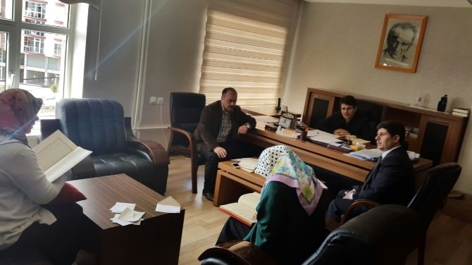 Ahlat'ta Kur'an-ı Kerim'i Güzel Okuma Yarışması