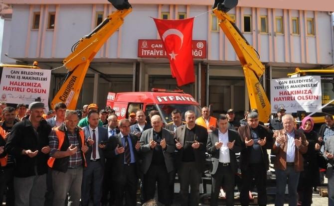 Çan Belediyesi Araç Filosuna Yenilerini Kattı