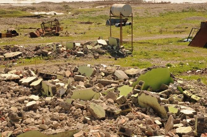 Büyükşehir Belediyesi Bismil'deki Kum Ocağını Kapattı
