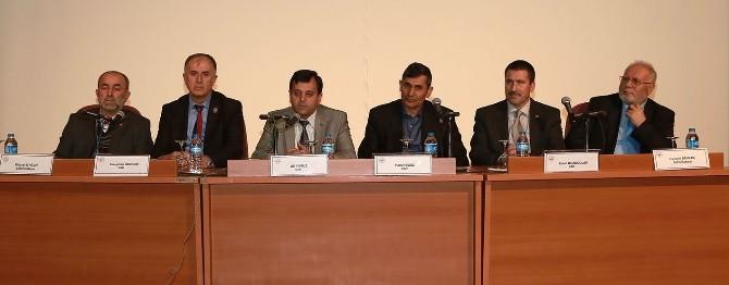 Erciyes Üniversitesi'nde Gaziler Konuştu