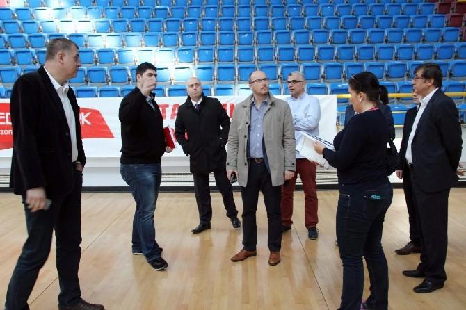 FIBA Yetkilileri Trabzon'da