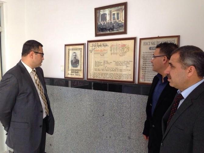 Kaymakam Sarıfakıoğluları'ndan Okul Ziyareti
