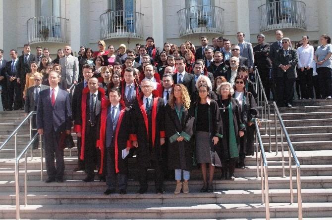 Bodrum'da Yargı Mensupları Terörü Kınadı