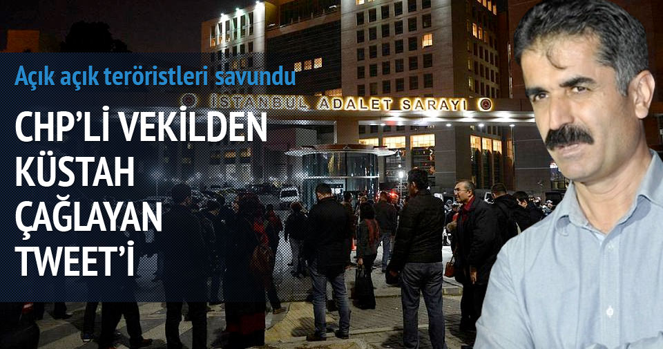 CHP'li vekil Hüseyin Aygün'den küstah Çağlayan tweeti