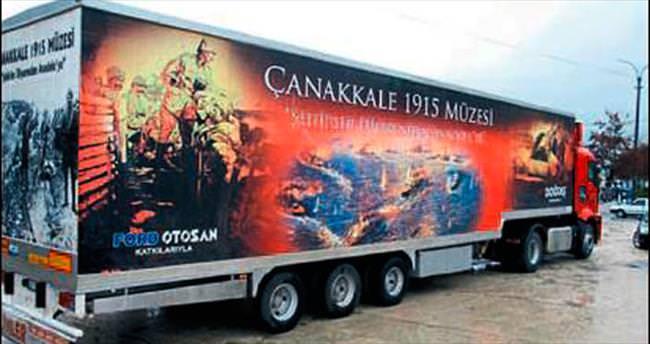 Gezici Çanakkale Müzesi Piazza'da