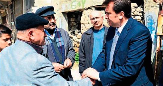 Başkan Erkoç'a vatandaş ilgisi
