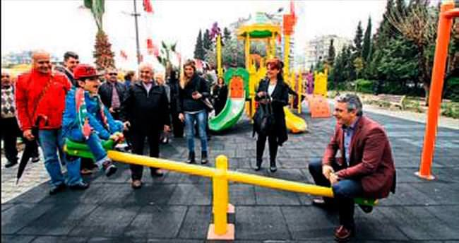 Gamzeli Park hizmete açıldı