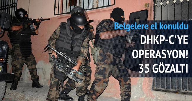 3 ilde 35 kişi gözaltına alındı