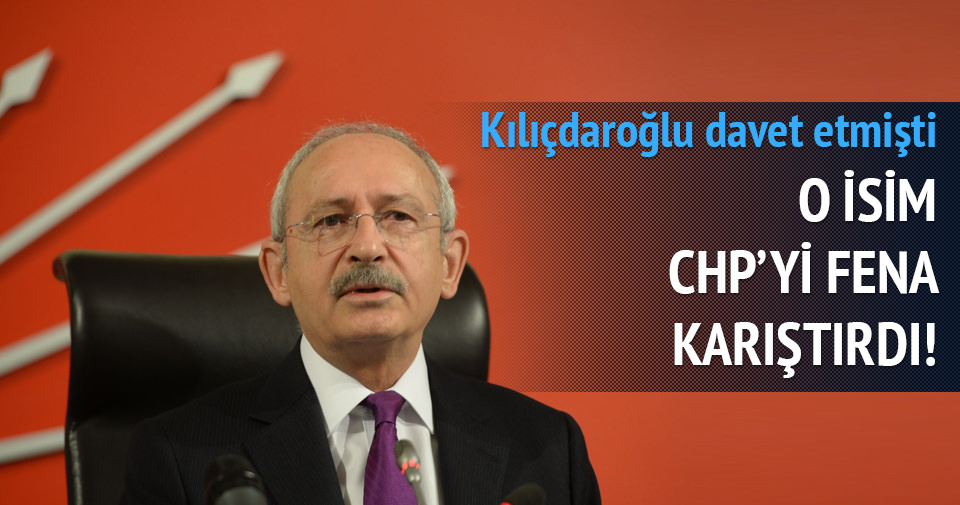 Chp Kemal Derviş Kemal Derviş Chp'yi Karıştırdı