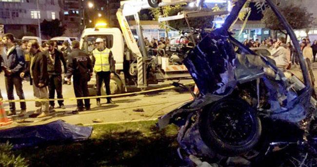 Otomobil yarışı kazayla bitti: 1 ölü