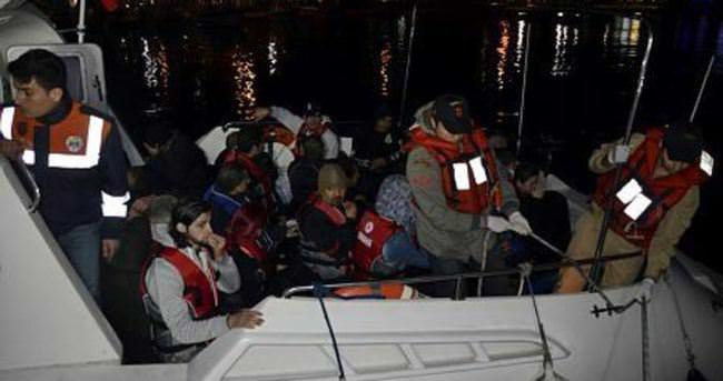 33 kaçak göçmen ölümden döndü