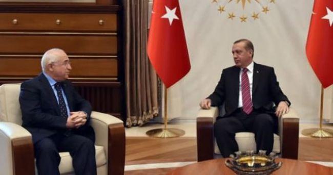 Erdoğan Cemil Çiçek'le görüştü