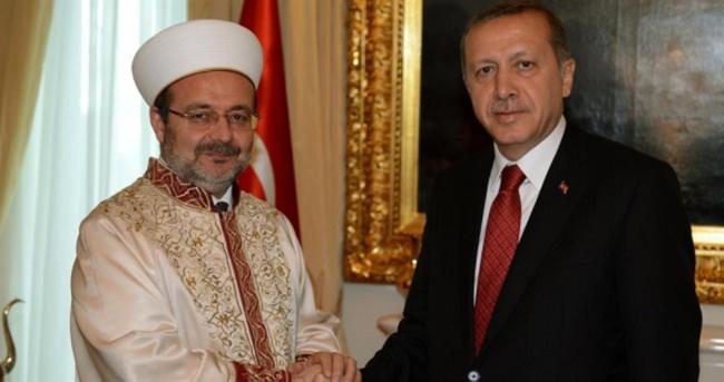 Erdoğan'ın üçüncü kabulu Görmez oldu