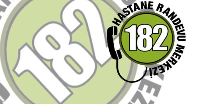 182 MHRS — Hasta Randevu Alma sistemi