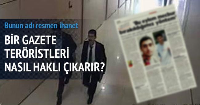Cumhuriyet Gazetesi teröristlerin savunma medyası oldu!