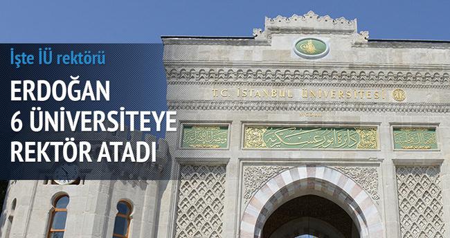 İstanbul Üniversitesi Rektörlüğüne atama