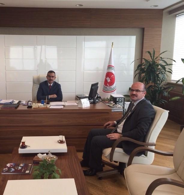 İskenderoğlu'ndan Başsavcı Akçıl Ve Adalet Komisyonu Başkanı Taşkaya'ya Taziye Ziyareti