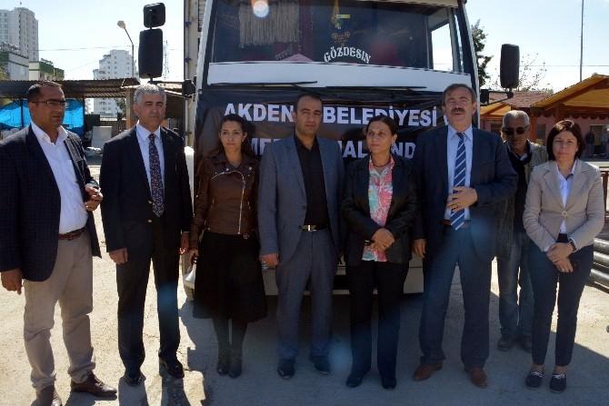 Akdeniz Belediyesi'nden Kobani Halkına İnsani Yardım