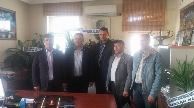 Başkan Akdere'den Dsyb'ye Hayırlı Olsun Ziyareti