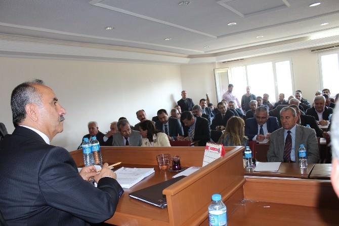 Arsuz Belediye Meclisi Toplandı