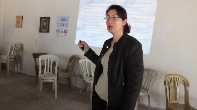 Köylü Kadınlar Organik Tarımı Öğreniyor