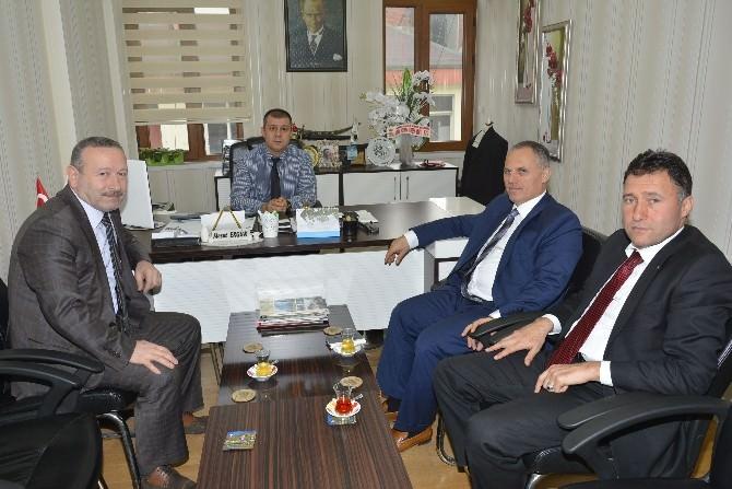 Bem-bir-sen'den Fatsa Belediyesi'ne Ziyaret