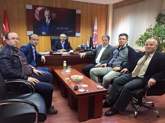 AK Parti Heyetinden Çli'ye Ziyaret