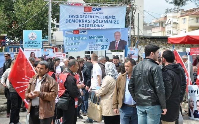 Ödemiş CHP'de Ön Seçim Bitti Hedef Genel Seçim