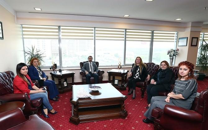 Edirne Kadın Girişimciler Kurulundan Rektör Yörük'e Ziyaret