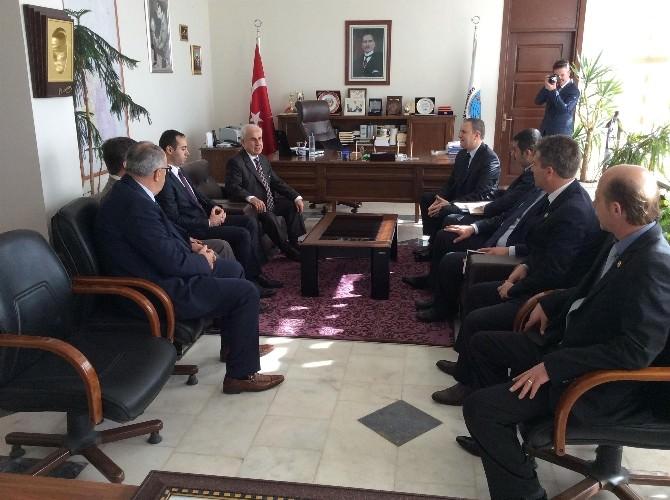 Edirne Valisi Dursun Ali Şahin'in İlçe Ziyaretleri Sürüyor